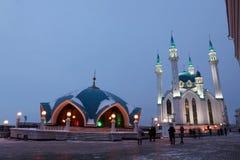 Kul谢里夫& x28; Qolsherif, Kol谢里夫, Qol Sharif& x29;清真寺在喀山K 库存照片