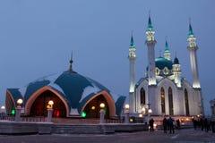 Kul谢里夫& x28; Qolsherif, Kol谢里夫, Qol Sharif& x29;清真寺在喀山K 库存图片