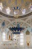 Kul sharif清真寺在克里姆林宫,喀山,俄联盟 库存照片