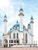 Kul Sharif清真寺在喀山克里姆林宫 库存图片