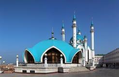 Kul sharif清真寺在喀山 免版税库存图片