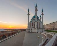 Kul Sharif清真寺 喀山市,俄罗斯 库存图片
