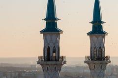Kul Sharif清真寺 喀山市, 图库摄影