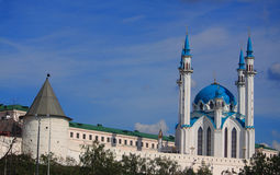 Kul Sharif - main Juma Mosque Tatarstan and Kazan Stock Photos