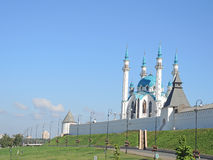 Kul Sharif moské i Kazan, Tatarstan, Ryssland Arkivfoto