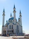Kul Sharif moské i Kazan, Tatarstan, Ryssland Fotografering för Bildbyråer