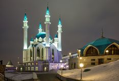 Kul-Sharif moské, Kazan royaltyfri bild