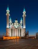 Kul Sharif moské Kazan stad, Ryssland arkivfoto