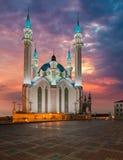 Kul Sharif moské Kazan stad, Ryssland fotografering för bildbyråer