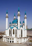 Kul Sharif mosque. The Kul Sharif mosque in Kazan city, Tatarstan, Russia - the largest mosque in Europe Stock Photo