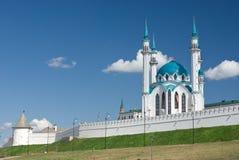 Kul Sharif mosque. In Kazan Kremlin - Russia royalty free stock image