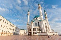 Kul Sharif mosque. In Kazan Kremlin - Russia stock photo