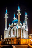 Kul Sharif mosque. On a background blue sky Royalty Free Stock Photos