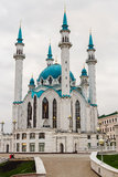 Kul Sharif mosque. Mosque on a background of blue sky in the Kazan Kremlin Royalty Free Stock Photos