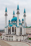 Kul Sharif mosque. Mosque on a background of blue sky in the Kazan Kremlin Royalty Free Stock Photo