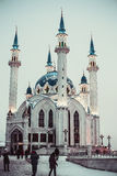 Kul Sharif mosque. Against the sky Royalty Free Stock Photography