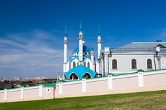 Free Kul Sharif Mosque In Kazan Kremlin. UNESCO World Heritage Site. Royalty Free Stock Photos - 57034408
