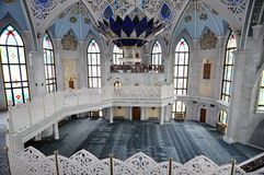 Kul Sharif Mosque in Kasan der Kreml Lizenzfreie Stockfotos