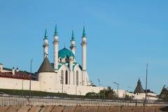 Kul Sharif Mosque in Kasan der Kreml Stockbilder