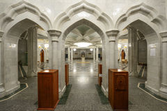 The Kul Sharif mosque. In Kazan royalty free stock photo