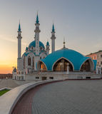 Kul Sharif mosque. Kazan city, Russia Stock Photos