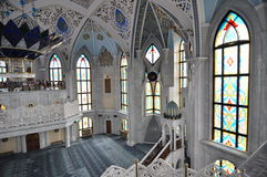 Kul Sharif Mosque in Kazan het Kremlin Stock Foto's