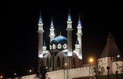 Kul Sharif Mosque in Kazan het Kremlin Royalty-vrije Stock Afbeeldingen