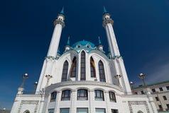 Kul Sharif Mosque in Kazan het Kremlin De Plaats van de Erfenis van de Wereld van Unesco Royalty-vrije Stock Afbeelding