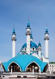 Kul Sharif Mosque - 2. Kul Sharif Mosque in Kazan Kremlin royalty free stock images