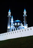 Kul-Sharif mosque in Kazan Kremlin at night Stock Photo