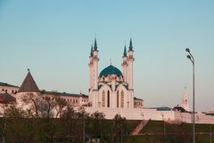 Kul Sharif mosque in Kazan Kremlin, Russia Royalty Free Stock Photography