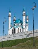 Kul Sharif mosque. In Kazan Kremlin - Russia royalty free stock photography