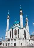 Kul Sharif mosque. In Kazan Kremlin - Russia royalty free stock photo