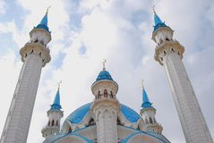 Kul Sharif mosque in the Kazan Kremlin, Russia. Royalty Free Stock Image