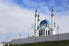 Kul-Sharif mosque in Kazan Kremlin Stock Photography
