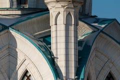 The Kul-Sharif Mosque. In the Kazan Kremlin, Tatarstan republic stock image