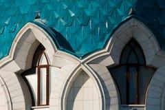 The Kul-Sharif Mosque. In the Kazan Kremlin, Tatarstan republic stock images