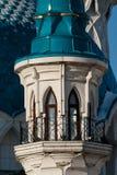 The Kul-Sharif Mosque. In the Kazan Kremlin, Tatarstan republic royalty free stock photography