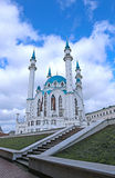 Kul-Sharif mosque in Kazan Kremlin Stock Image