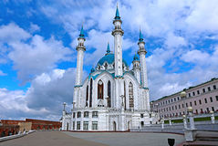 Kul-Sharif mosque in Kazan Kremlin Stock Photos