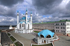Kul-Sharif mosque in Kazan Kremlin Royalty Free Stock Image