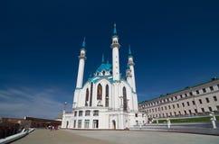 Kul Sharif Mosque in Kazan Kremlin. UNESCO World Heritage Site. Royalty Free Stock Photography