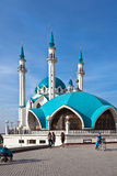 The kul sharif mosque. Kazan stock photo