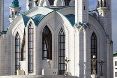Kul sharif mosque in  kremlin,kazan,russian federation. Kul sharif mosque in  kremlin is taken in kazan,russian federation Stock Images