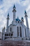 Kul-Sharif Mosque. The main cathedral Juma Mosque of the Republic of Tatarstan and the city of Kazan stock photography