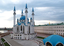 The Kul Sharif mosque and old Kremlin, Kazan Stock Photos