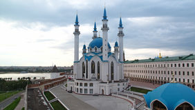The Kul Sharif mosque and old Kremlin, Kazan Royalty Free Stock Photos