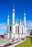 The Kul Sharif Mosque. Is a one of the largest mosques in Russia.  is located in Kazan city in Russia stock photos
