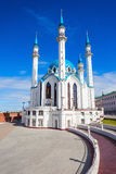 The Kul Sharif Mosque. Is a one of the largest mosques in Russia.  is located in Kazan city in Russia stock image