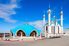 The Kul Sharif Mosque. Is a one of the largest mosques in Russia.  is located in Kazan city in Russia stock images